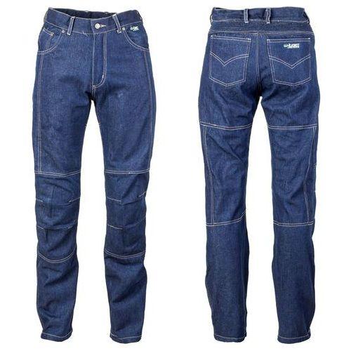 Męskie jeansy motocyklowe z kevlarem W-TEC NF-2930, Niebieski, 4XL, jeansy