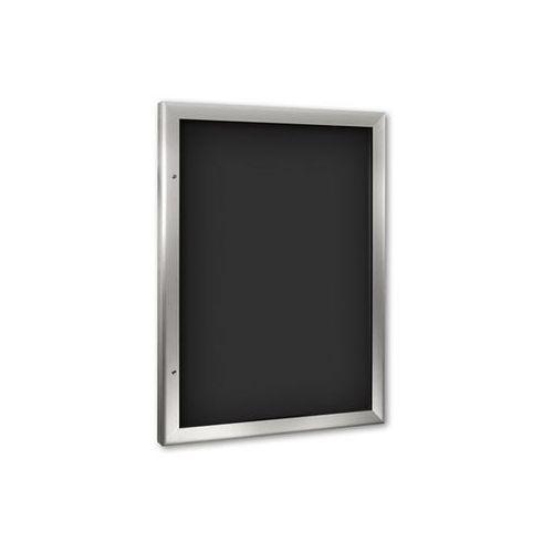 Schaar-design Gablota do zastosowania wewnątrz i na zewnątrz budynku, format pionowy, na din a