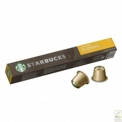 STARBUCKS Blonde Eespresso Nespresso 10 Kapsułek (7630477891738)