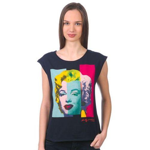 Pepe Jeans koszulka bez rękawów damska Monroe S ciemnoniebieski (8434341541304)