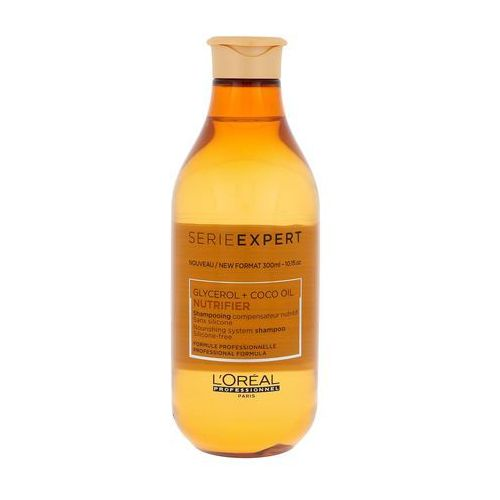 nutrifier, szampon wzmacniający i nawilżający włosy suche 300ml marki Loreal