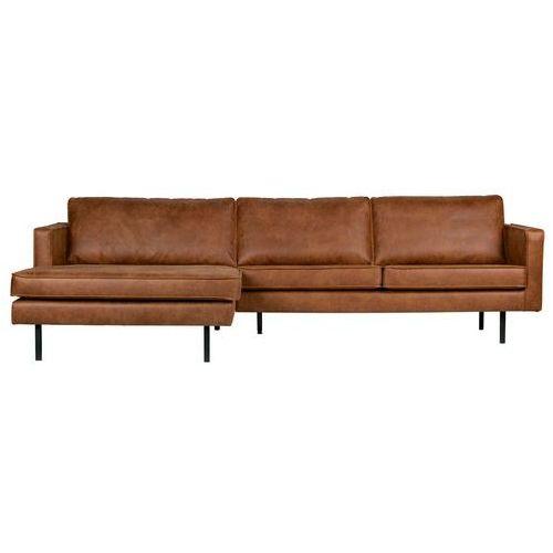 sofa narożna lewostronna rodeo koniak 800905-b marki Be pure