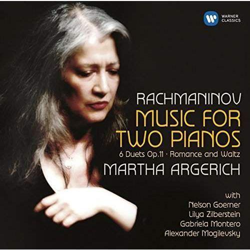 Warner music poland Rachmaninov: music for two pianos - martha & friends argerich (płyta cd) (0825646235940)