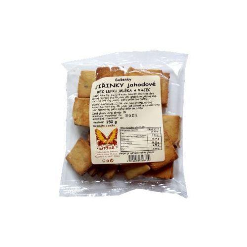Natural Ciasteczka gryczane z truskawkami 150g