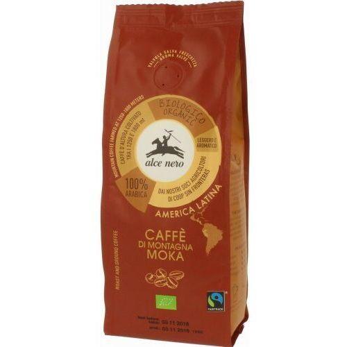 Kawa 100% arabica moka fair trade bio 250 g - alce nero marki Alce nero (włoskie produkty)