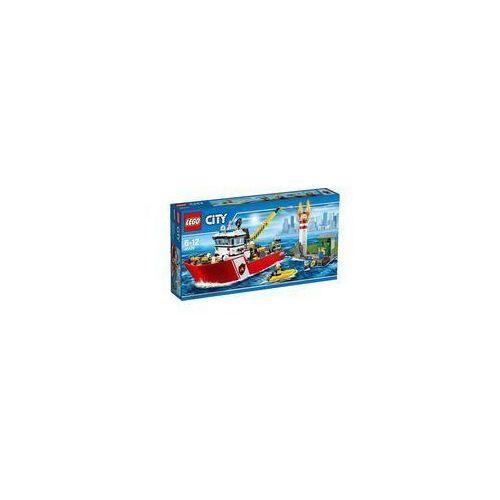 Lego City Łódź strażacka (łódź i statek zabawka) od www.cud.pl