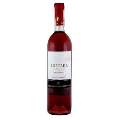 Portada 750ml vinho regional lisboa medium sweet wino portugalskie różowe półsłodkie | darmowa dostawa od 150 zł! wyprodukowany przez Jose neiva correla