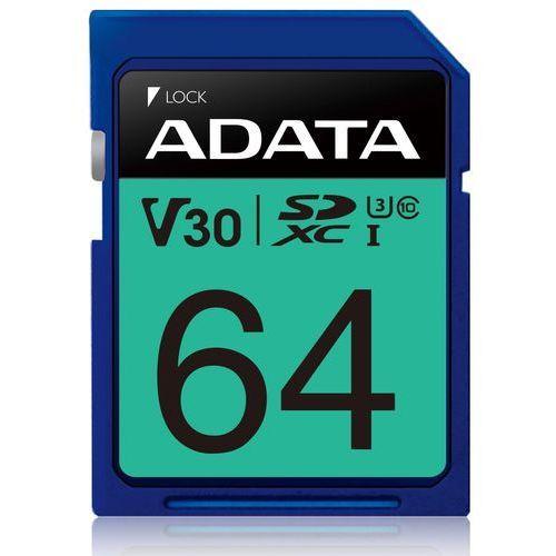 Karta pamięci ADATA SDXC Premier Pro 64GB (4713218463913)