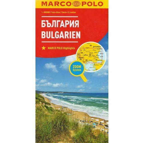Marco Polo Mapa Samochodowa Bułgaria 1:800 000 Zoom (9783829738224)