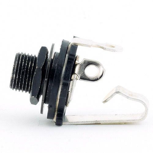 standard plug open mono czarny contacts silver plates gniazdo gitarowe marki Mec