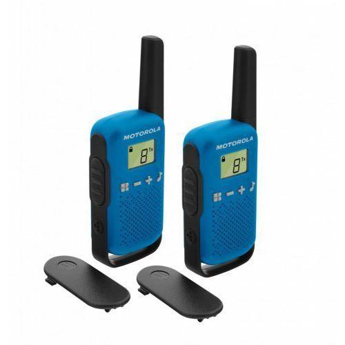 Radiotelefon MOTOROLA Talkabout T42 Niebieski + Zamów z DOSTAWĄ JUTRO! + DARMOWY TRANSPORT! (5031753007508)