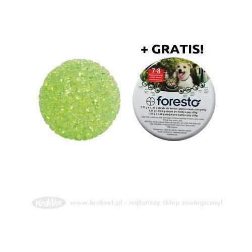 TRIXIE Piłeczka z dzwonkiem 4107 x10 +BAYER Foresto - Obroża obroża przeciw pchłom i kleszczom dla kotów i małych psów (dł. 38cm) GRATIS!!! - sprawdź w Krakvet