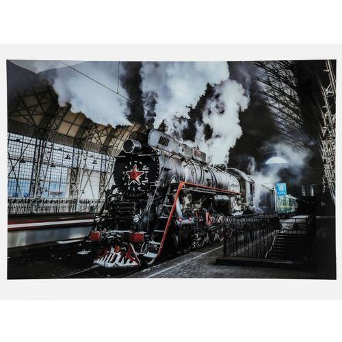 Obraz Steam Train Kare Design 37283 (obraz)
