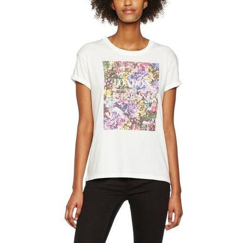 Pepe Jeans T-shirt damski Brenda S kremowy (8434341276534)