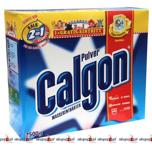 Niemiecki proszek Calgon 2,5 kg (proszek do prania ubrań)
