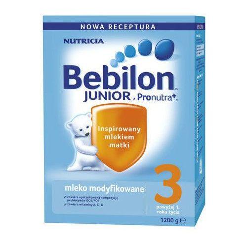 Bebilon Junior 3 z Pronutra+ mleko modyfikowane ZESTAW 6x1200g (mleko dla dzieci)