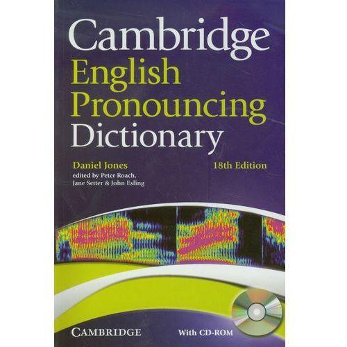 Cambridge English Pronouncing Dictionary + CD, Jones, Daniel