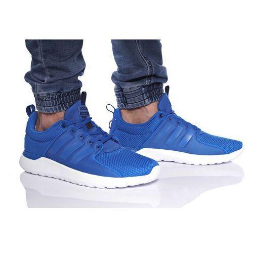 Adidas Buty cloudfoam lite racer aw4028 - błękitny   niebieski
