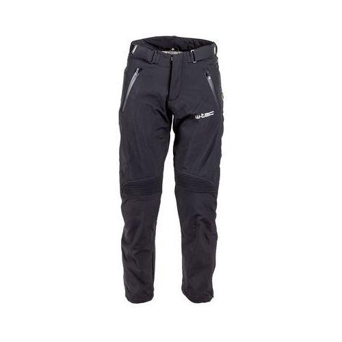 W-tec Męskie spodnie motocyklowe soft-shell nf-2801, czarny, xxl