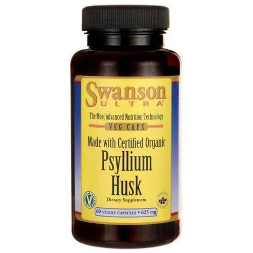 Kapsułki Swanson Organic Psyllium Husk 625 mg 60 kapsułek