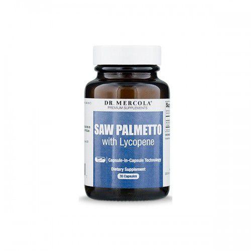 Saw palmetto z likopenem (30 kaps.) palma sabałowa marki Dr mercola