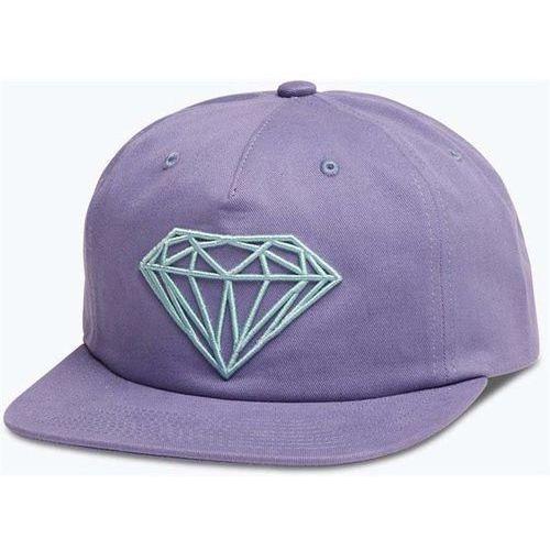 czapka z daszkiem DIAMOND - Brilliant Unconstructed Sb Purple (PUR) rozmiar: OS