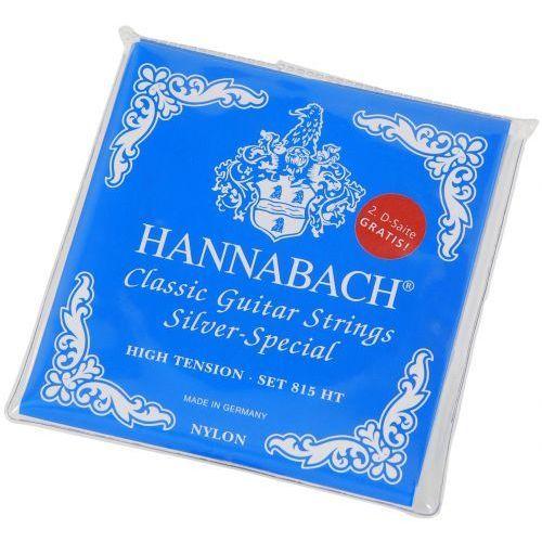 (652537) e815 ht struny do gitary klasycznej (heavy) - komplet marki Hannabach