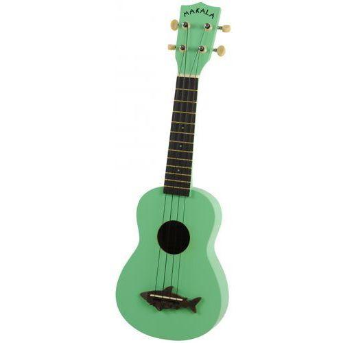 Kala Makala Shark SS-GRN ukulele sopranowe, zielone