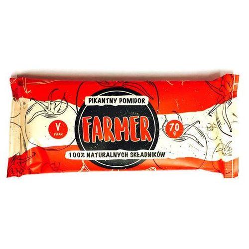 Farmer pikantny pomidor baton 100% naturalnych składników 70g marki Zmiany zmiany