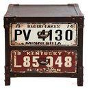 Produkt z kategorii- szafki nocne - Kare Design Modern Vintage Road Trip Szafka Nocna z 2 Szufladami 51x40 cm (77736)