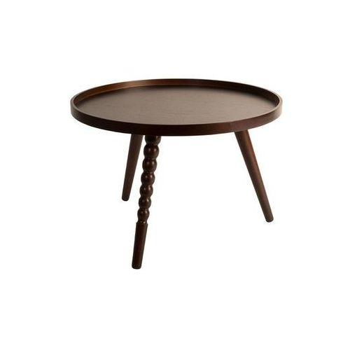 Dutchbone Stolik kawowy okrągły arabica - różne rozmiary - m: 40 wys. x 58.5 szer. x 58.5 gł.