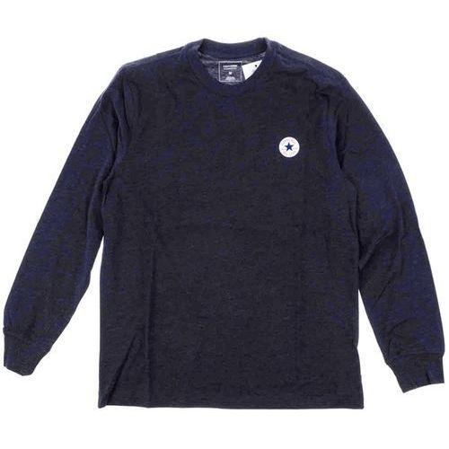 koszulka CONVERSE - Ls Tpu Tee Cuff Dark Obsidian Heather (A04) rozmiar: XL