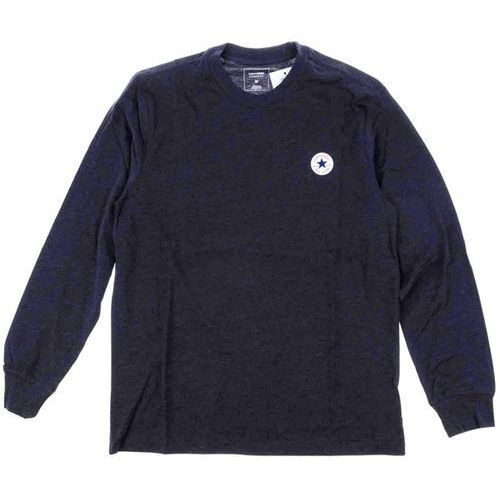 Koszulka - ls tpu tee cuff dark obsidian heather (a04) marki Converse