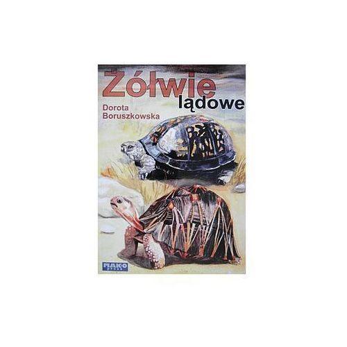 """Książka """"Żółwie lądowe"""" wyd. Mako Press (9788386203901)"""