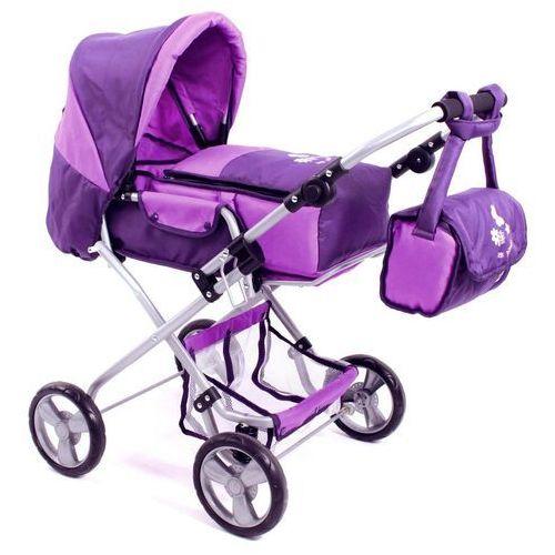 Bayer Chic Wózek dla lalek BAMBINA, fioletowy - oferta [05f6d6a29fc38284]