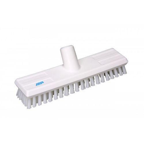 Szczotka do szorowania z doprowadzeniem wody, twarda, biała, 270 mm, VIKAN 70415 - produkt z kategorii- szczotki