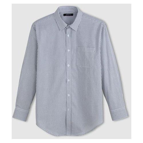 Popelinowa koszula z długim rękawem, rozmiar 2