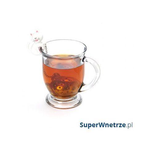 Msc international Zaparzaczka do herbaty kot biała