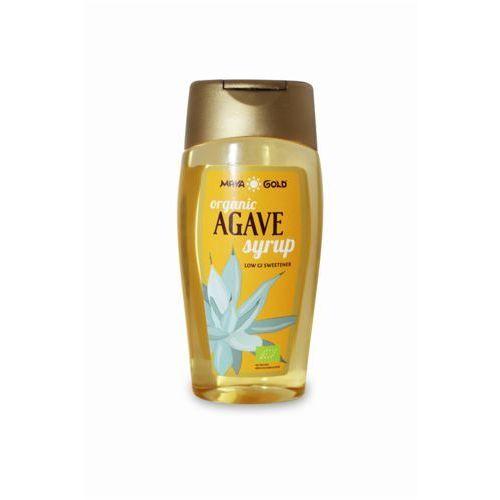 Maya gold (syropy z agawy, oleje kokosowe) Syrop z agawy jasny bio 350 g (250 ml) - maya gold