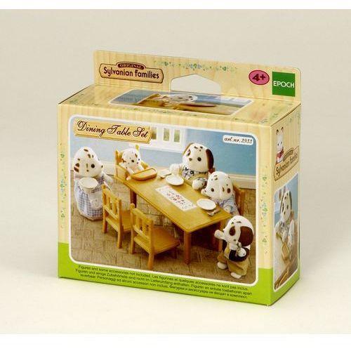 Sylvanian Families, zestaw do jadalni, stół i krzesła (domek dla lalek)