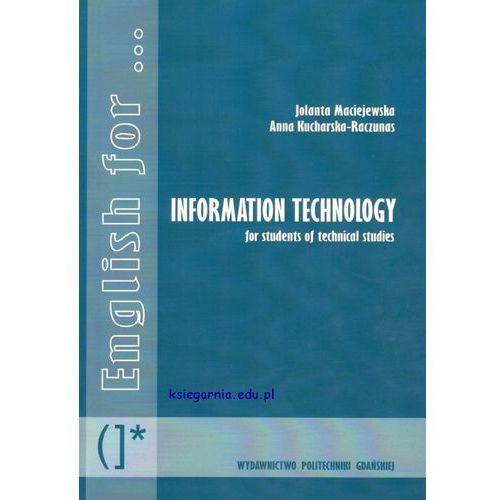 English for Information Technology + płyta CD (2012)