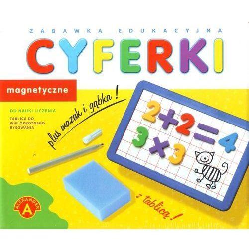 Zabawka ALEXANDER Cyferki magnetyczne z tablicą (5906018004182)