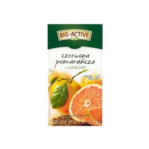 Herbata owocowa Czerwona Pomarańcza z Lapacho 20 torebek (5907658332369)