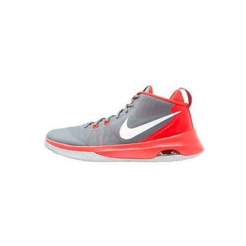 Nike Performance AIR VERSITILE Obuwie do koszykówki cool grey/white/max orange/wolf grey/pure platinum, kolor szary