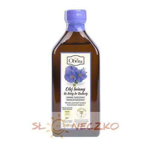 Olej lniany do diety dr budwig 250ml marki Olvita
