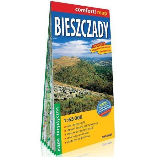 Comfort! map Bieszczady mapa turystyczna 1:65 000, praca zbiorowa