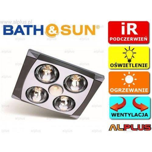 Panel łazienkowy premium a716a 3w1 grzejnik na podczerwień, oświetlenie, wentylacja wysyłka gratis marki Bath&sun
