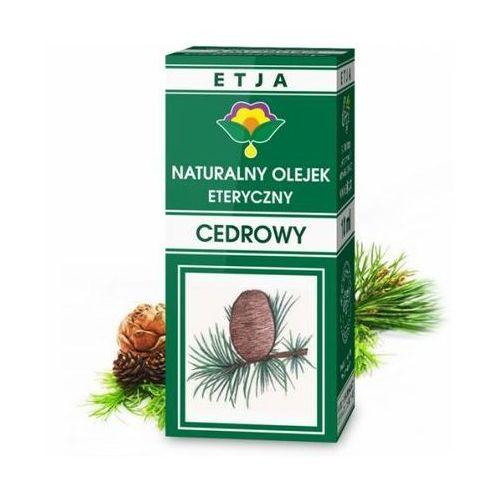 Etja Cedr - olejek eteryczny 10 ml