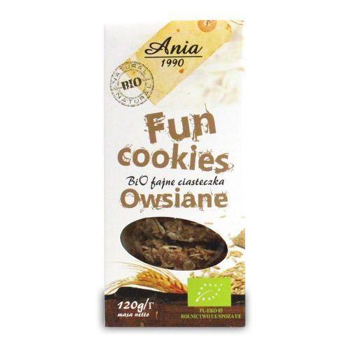 Bio ania Ciasteczka owsiane fun cookies bio 120g