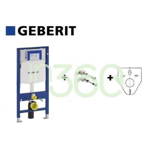 Geberit Zestaw Stelaż podtynkowy duofix Sigma H112 ze wspornikami 111.320.00.5 +111.815.00.1